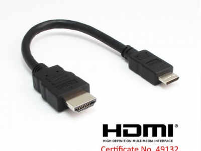 HDMI A to C(mini) Cable